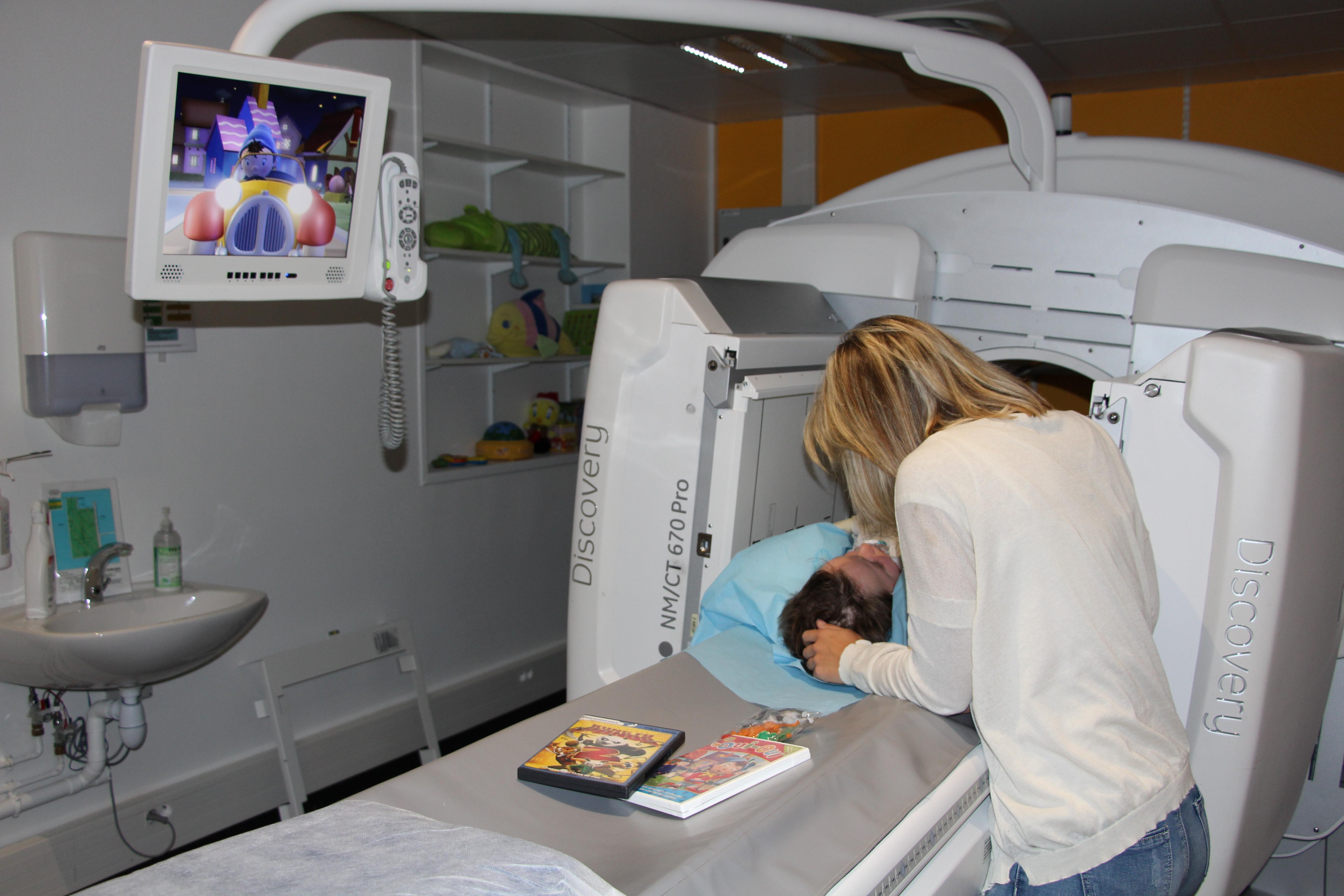 gamma camera médecine nucléaire
