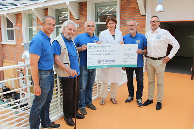Remise cheque Kiwanis Seclin 2019
